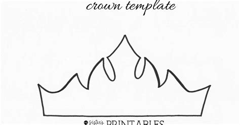 crown template elsa crown template pdf de frozen