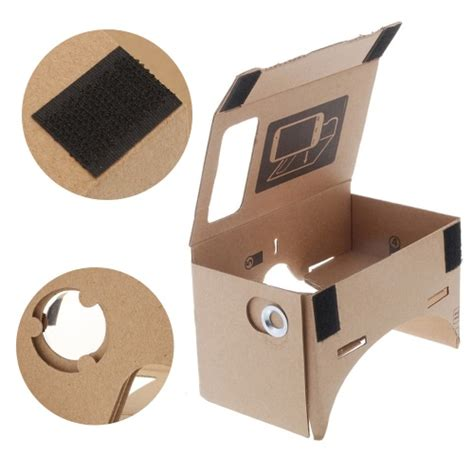 Vr Box 2 T3 With Magnetic Button Cardboard Reality Glasses diy cardboard reality vr mobile phone 3d viewing glasses for 5 0 quot screen sales
