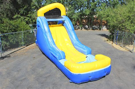 backyard water slide outdoor furniture design and ideas