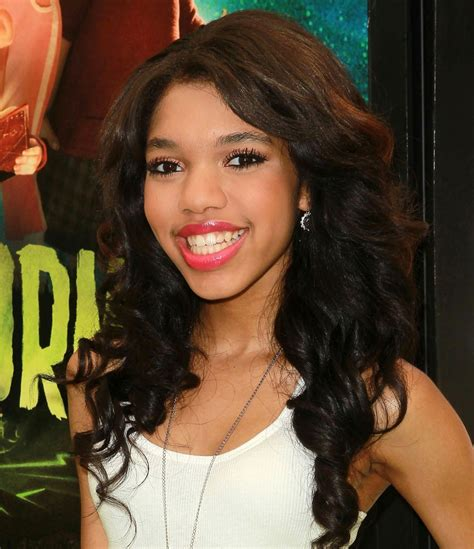 is teala dunn hair what does she fo teala dunn picture 2 world premiere of paranorman