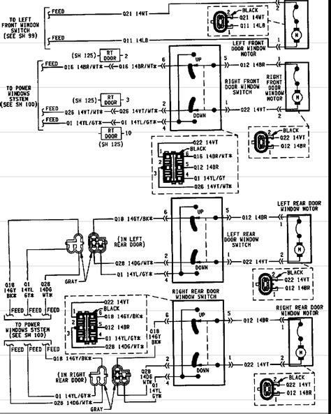 jeep grand 1995 wiring diagram wiring diagram