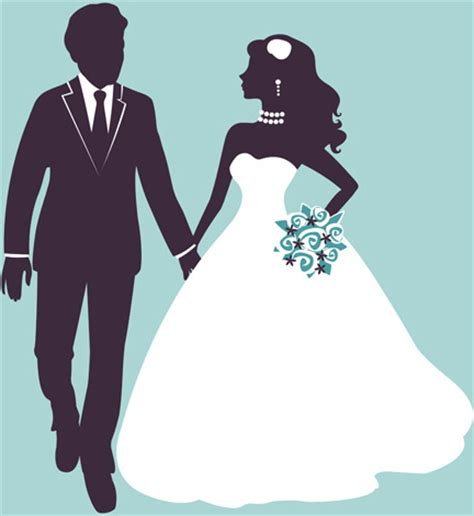Wedding Vector Images Free by Sina With Wedding Vector Silhouettes Free Vector In