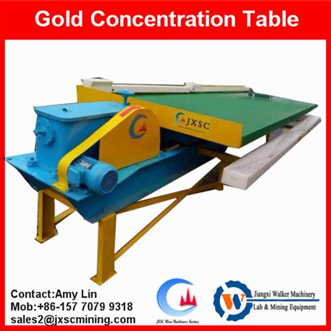 jxsc new type gold shaker table gold recovery machines