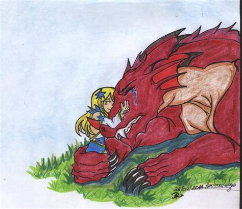 la princesa y el dragon by kabinett on nalu l la princesa y el dragon by arx2 on