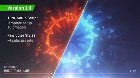 Audio Spectrum Music Visualizer By Kosmos Videohive Adobe After Effects Visualizer Template