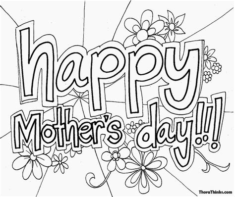 happy mothers day coloring page mothers day coloring pictures free coloring pictures