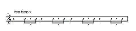 swing notation talking rhythm series recap easy ear training
