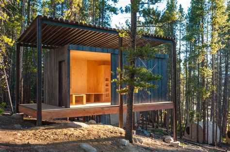 micro cabins adventure journal a bright cabin in the woods