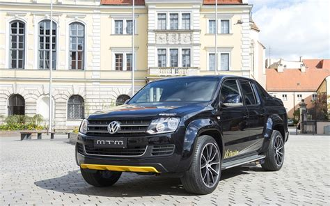 Amarok V6 Tieferlegung by 2014 Mtm Volkswagen Amarok Tuning Black Up Germany