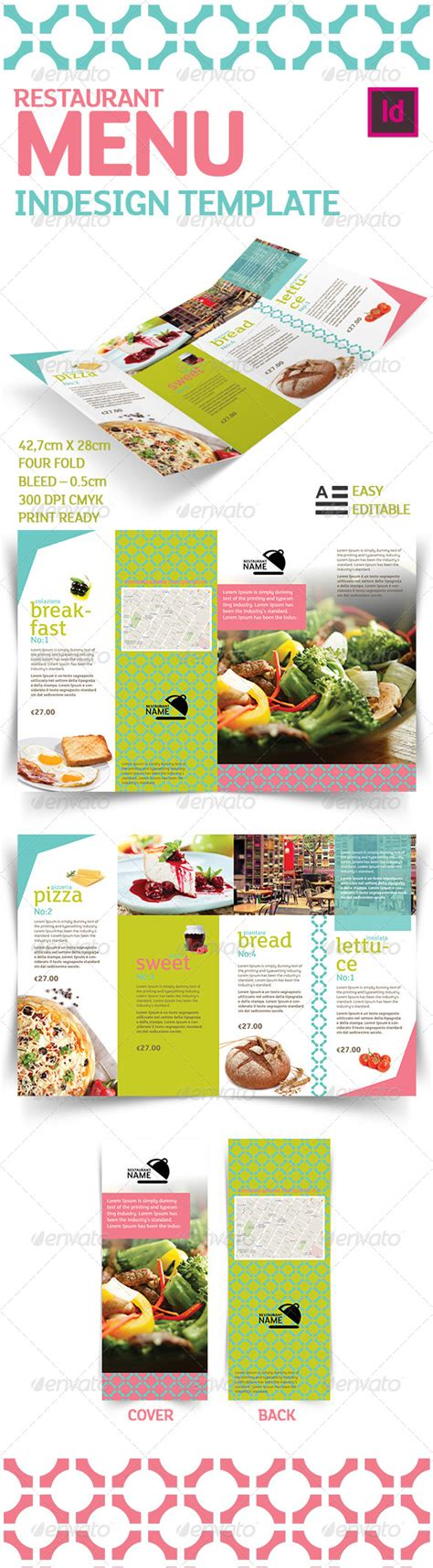 Print Template Graphicriver Restaurant Menu Indesign Template 5744939 187 Dondrup Com Indesign Menu Template