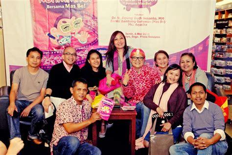 Nganimasi Bersama Be Bambang Gunawan launching buku nganimasi bersama be ids