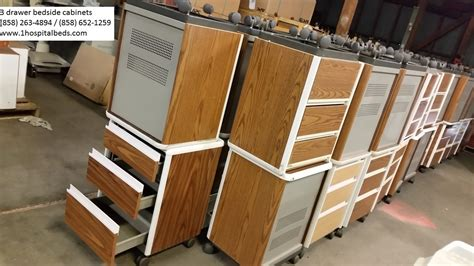 used hospital bed table for sale used hill rom side bed tables patient mate 632 f for sa