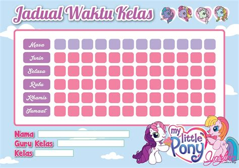 buat struktur organisasi kelas school timetable template barbie poney marvel