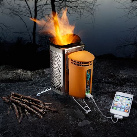 BioLite CampStove   Burns Wood to Cook Dinner and Charge Gadgets   The Green Head