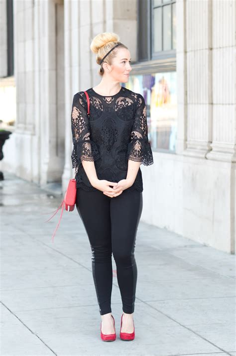 casual s morsels chic in black