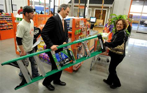 trumbull home depot joins many others in region