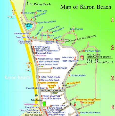 Modern Home Design Thailand by Karon Beach Map