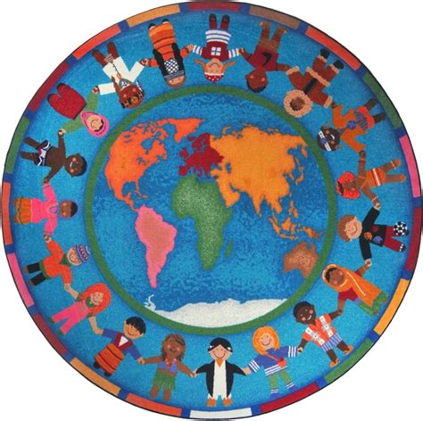 around the world rug world map classroom carpet