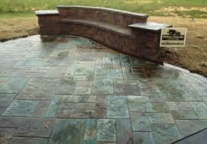 What Is Stamped Concrete Patio Walkers Concrete Llc Stamped Concrete Patio Stamped