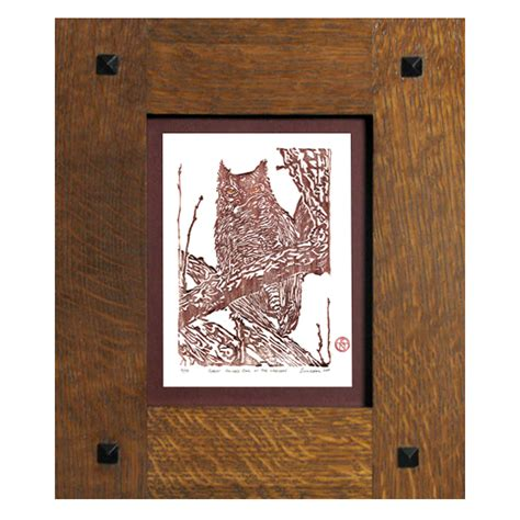 Handcrafted Frames - simple tenon handcrafted frame