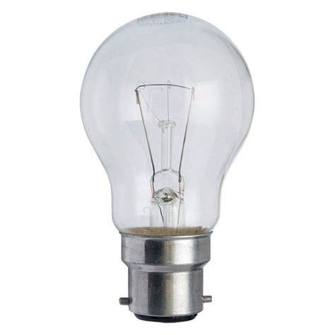 60 w light bulb 60 watt bc b22 clear service gls light bulb now