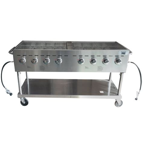 backyard pro c3h860 60 quot stainless steel outdoor grill