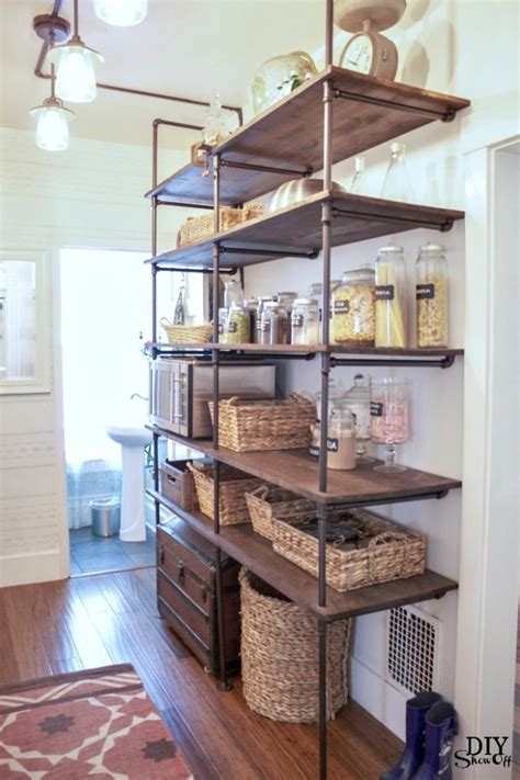 Open Shelf Pantry by Pantry Archives Diy Show Diy Decorating And Home