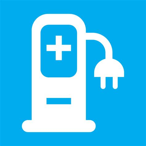 new electric car charging point map symbol ordnance