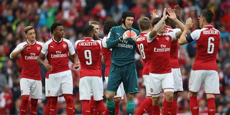 arsenal bola net 5 alasan arsenal bisa juara premier league 2017 18 bola net