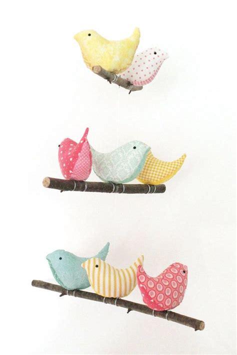 Nursery Bird Mobile Baby Crib Cot Decor 8 By Pigshavewings Bird Decor For Nursery