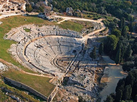 di siracusa theatre of syracuse