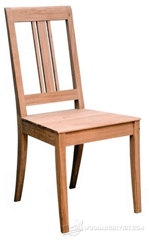 Dining Chair Plans Free Dining Room Chairs Plans Woodarchivist