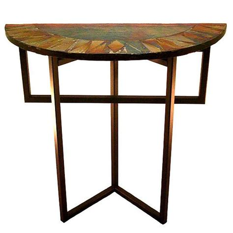 Foyer Table L radiance foyer table by joel and bless glass console table artful home