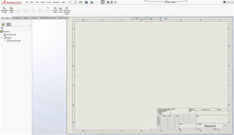 solidworks tutorial layout view layout tools tutorial for solidworks 12cad com