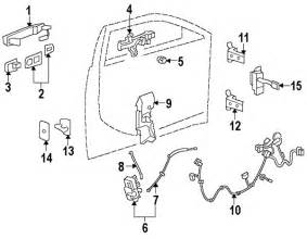 Cadillac Part Numbers Parts 174 Cadillac Handle Outside W Remote Start
