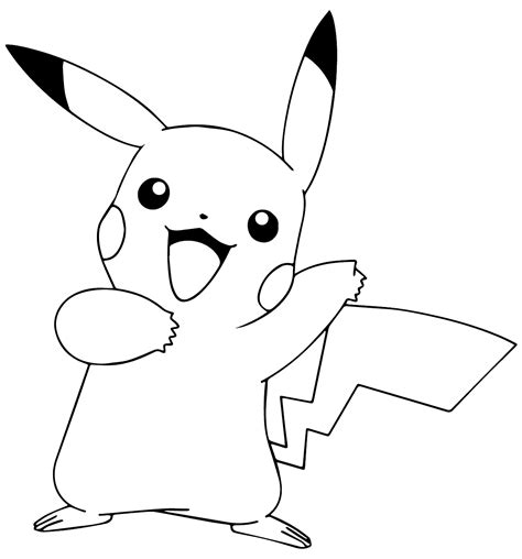 coloring pages of pokemon pikachu pok 233 mon pikachu coloring pages coloring point coloring