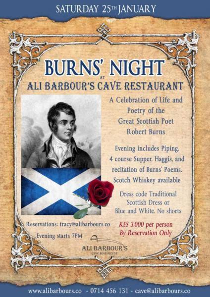 burns night guide the history of the burns supper maandbericht engels januari 2016 vicariaat onderwijs