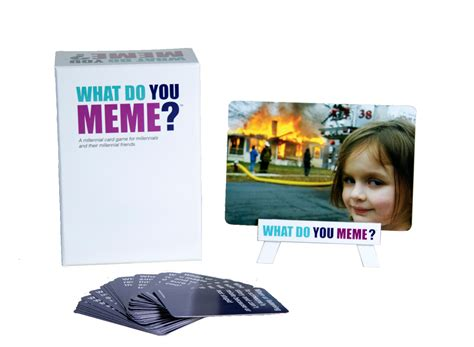 Meme Card Game - what do you meme new card games social party games board