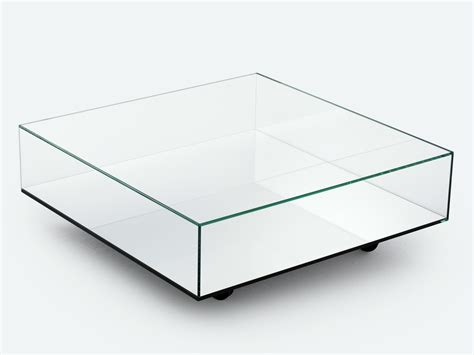 low glass top coffee table low mirrored glass coffee table reflect by bensen