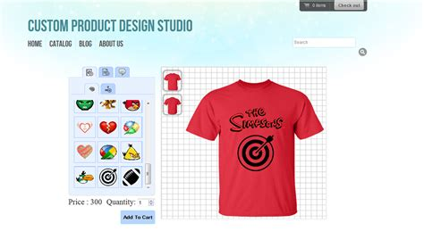 Tshirt Product Design Studio Ecommerce Plugins For Online Stores Shopify App Store T Shirt Design Template App