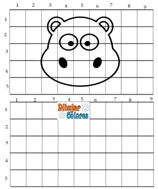 imagenes faciles para dibujar en cuadricula dos dibujos para reproducir en cuadr 237 cula actividades