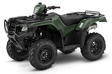 new 2018 honda fourtrax foreman rubicon 4x4 automatic dct