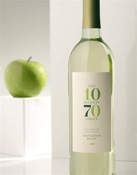 wine label design napa valley 1070 green wine mcg cellars wine label package design