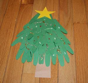 handprint christmas tree craft all kids network