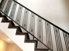 Metal Stair Banisters Custom Residential Railing In Northbrook Smw