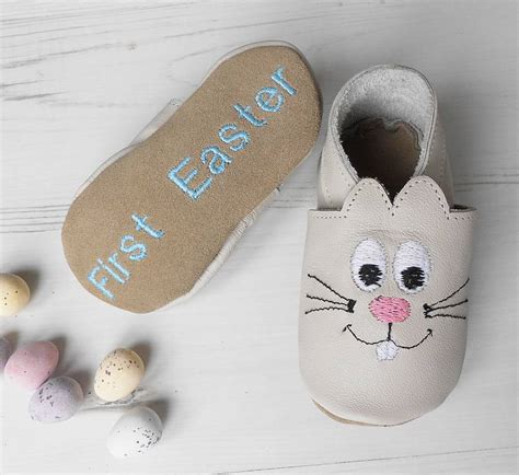 Bunny Shoes Baby personalised easter bunny baby shoes by born bespoke