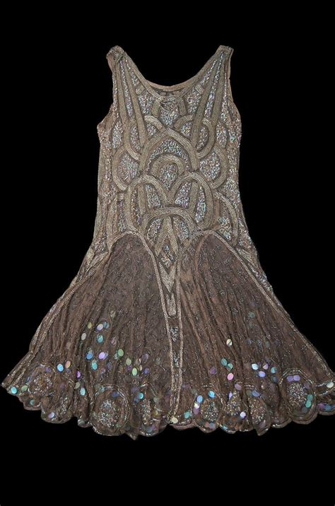 beaded 1920s dress 1920s gold beaded flapper dress wantwantwant
