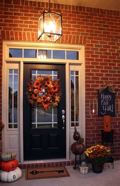 pottery barn inspired fall front porch 19 best halloween crafts images on pinterest halloween