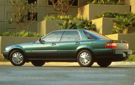 how make cars 1994 acura vigor free book repair manuals rear left 1993 green acura vigor gs car picture old and new car pics