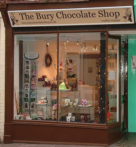 the shop the bury chocolate shop